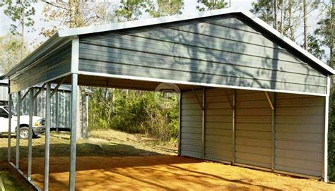 Boat Carport Kits by 20x21 Metal Rv Carport Equipment Storage Shed Boat Cover