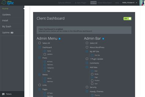 Control What Clients See In The Wordpress Dashboard