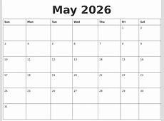 November 2026 Calendar Printable
