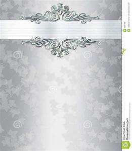 silver wedding invitation templates wedding invitation With wedding invitation email background free download