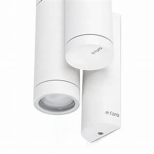 Applique Exterieur Blanc : applique exterieur steps blanc faro 75502 ~ Edinachiropracticcenter.com Idées de Décoration