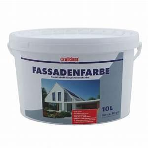 Sto Farbe Weiß : wilckens fassadenfarbe 10l wei farbe fassade wilckens ~ Orissabook.com Haus und Dekorationen