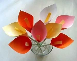 Diy, Paper, Calla, Lily, U00b7, How, To, Make, A, Flowers, U0026, Rosettes, U00b7, Papercraft, On, Cut, Out, Keep