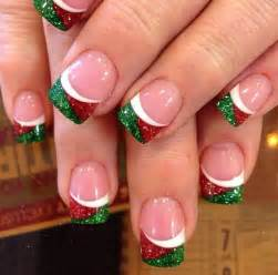 Ideas about christmas nail designs on