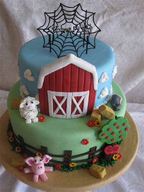 charlottes web cakecentralcom