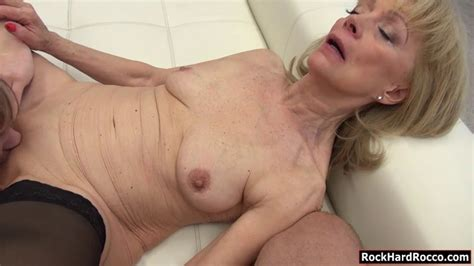 Teen And Granny Anal Threesome Session With Nasty Rocco On