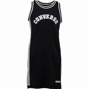 buy converse junior basketball jersey dress black