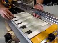 cutting glass tile backsplash 03-440SB36 Cutting Glass Tile - YouTube