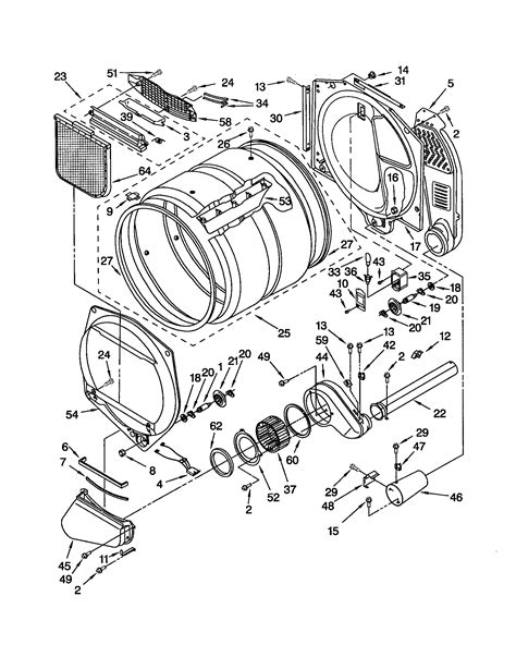 sears kenmore elite front load gas dryer model