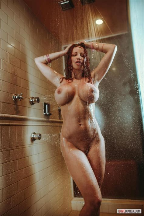 Busty Bianca In The Shower