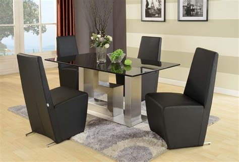 black granite not glass dining table and 6 chairs ebay