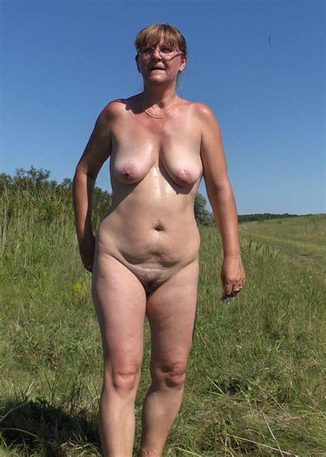 Doris Naked Outdoors At