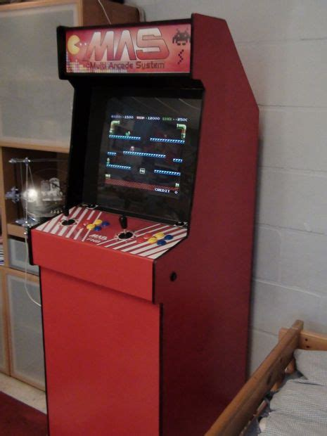 Build Arcade Cabinet From Scratch by Build An Arcade Cabinet From Scratch Bar Cabinet