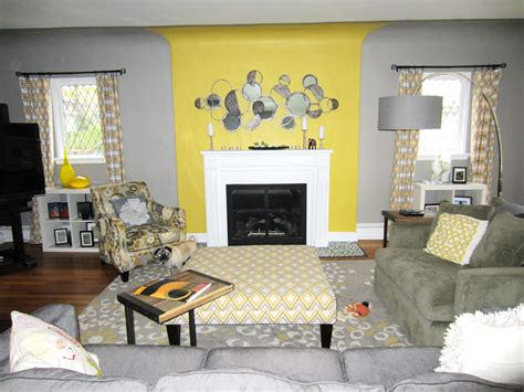 Living Room Ideas With Yellow And Gray by Yellow And Grey Living Room Beautiful Interior Design