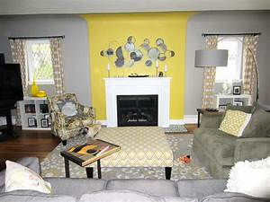 yellow and grey living roombeautiful interior design With gray and yellow living rooms
