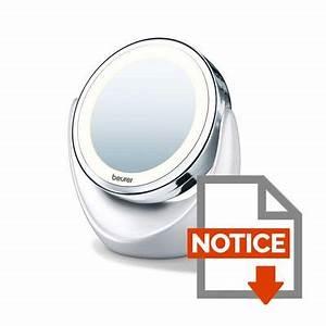 miroir grossissant eclaire bs49 achat vente miroir With miroir éclairé