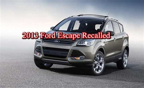 ford recalls  escape   fire risk  mag