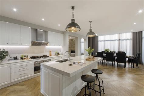 pictures of simple kitchen design open plan kitchen in the brookwater with a classic 7483