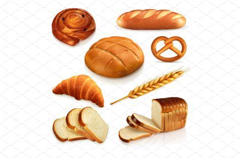 bread bakery wheat vector icons icons creative market