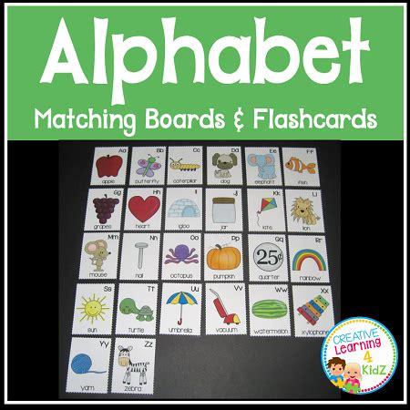 alphabet matching boards flashcards digital