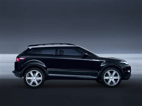 Geneva 2008 Land Rover Lrx Concept Black