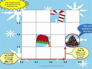 Save Santa This Christmas  4 Figure Grid Reference Map