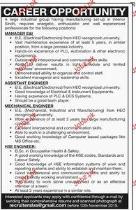 Manager, Assistant Manager, Engineer Job Opportunity 2018 ...