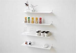 Etagere Murale Pour Cuisine : tag re murale cuisine teeline 60 cm lot de 2 acier ~ Dailycaller-alerts.com Idées de Décoration