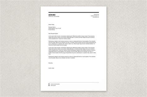 modern letterhead  printable letterhead
