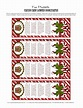 Candy Cane Legend Bookmarks - I can use these when we do ...