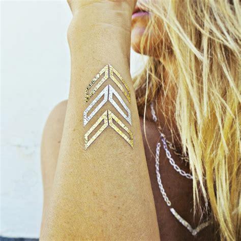 tatouage ephemere metallique tattoo ninanina