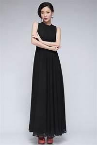 Black Summer Maxi Dress  2016-2017 u2013 Fashion Gossip