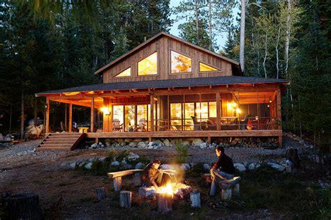 Wrap around Porch Cabin Design Ideas 1 Story House Plans