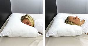 Sleeping slim the best thin pillows for stomach and back for Best pillow for front sleepers