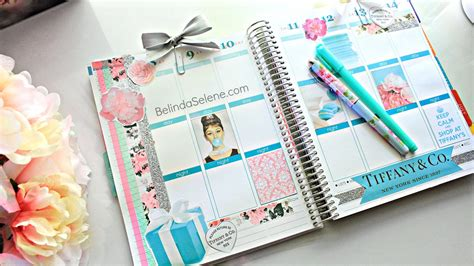 Home Decor Planner :  Decorate Your Planner With Me