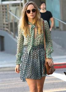 suki waterhouse style in los angeles and the