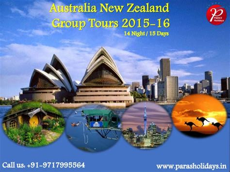 Australia New Zealand Group Tours 2015 Package