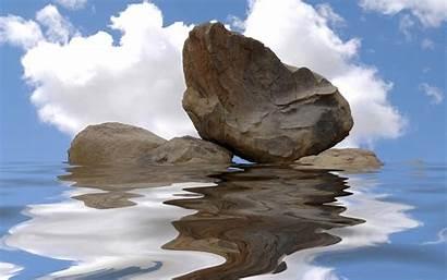 Water Reflection Stone