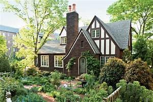 Tudor, Cottage, -, Charming, Home, Exteriors