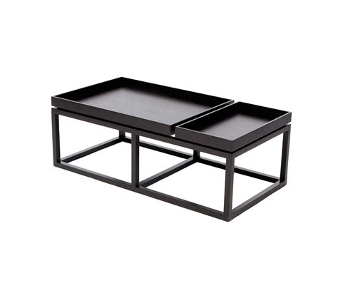 These black gold coffee table are offered in various shapes and sizes ranging from trendy to classic ones. COFFEE TABLE TRAY, BLACK: WOOD WALNUT - Lounge tables from NORR11   Architonic