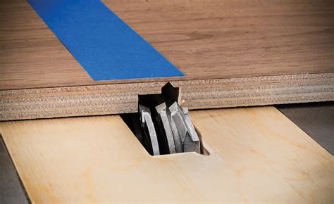 rockler introduces miter fold dado set profiled blade