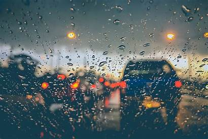Rain Driving Seattle Days Rules Road Field
