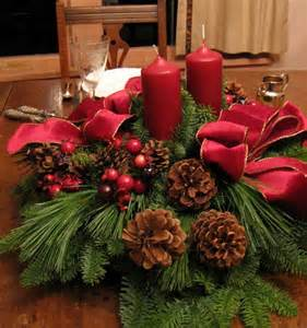 apartments awesome diy christmas decoration with red chandle light and pine cone also red