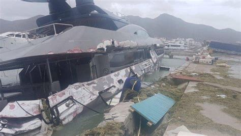 Hurricane Irma Boats Destroyed by New Footage Of Yachts Destroyed By Hurricane Irma Yacht