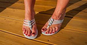 Spraying Antiperspirant To Prevent Foot Sweat