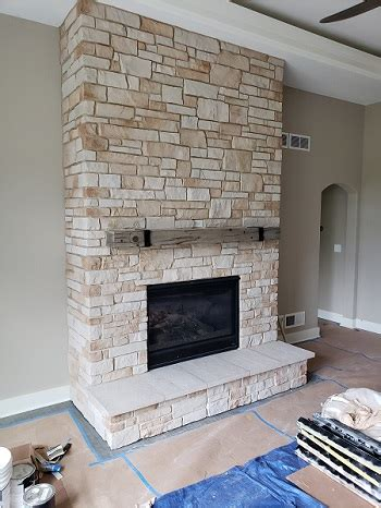 heatilator fireplace  facing installation badgerland