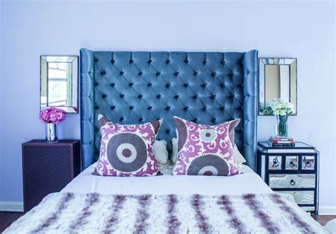 blue table ls bedroom great bedroom ideas with mismatched nightstands decoholic