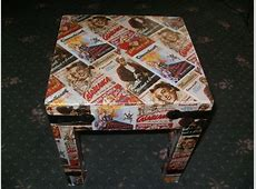Wrapping Paper Table · A Table · Decorating, Decoupage