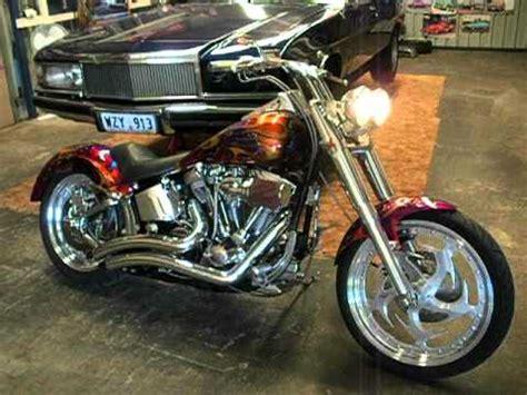 Harley Davidson Customs by Harley Davidson Custom Fatboy Softail Chopper For Sale