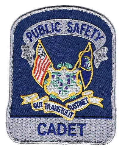 State Police Troop Cadets Connecticut Cadet Patch